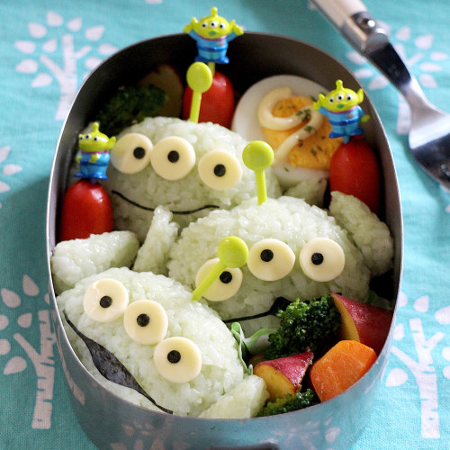 Buzz & Alien Toy Story Character Bento