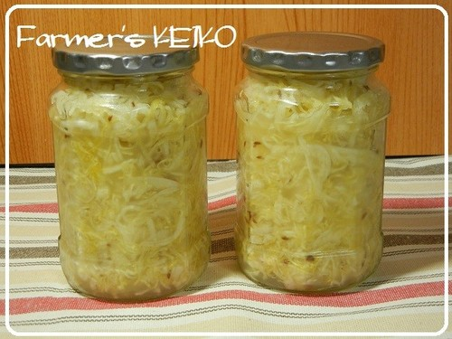 A Farmhouse Recipe for Sauerkraut
