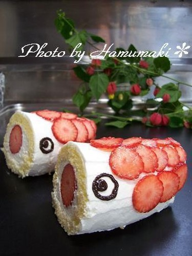 For Children's Day! A Koinobori Cake That Kids Will Love