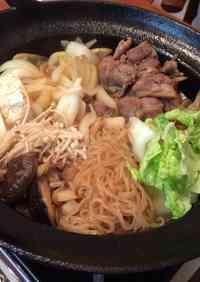Easy and Simple Chicken Sukiyaki