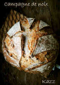 Rustic Walnut Loaf with Homemade Natural Leaven