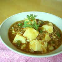Quick Mapo Tofu