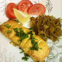 Tandoori Salmon: Spice Marinated Salmon