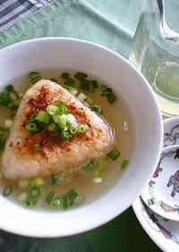 Western-Style Grilled Onigiri Chazuke
