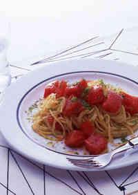 Chilled Tomato Pasta