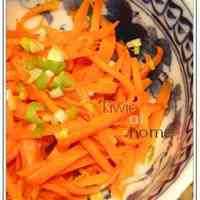 Carrot Namul (Korean-style Salad)