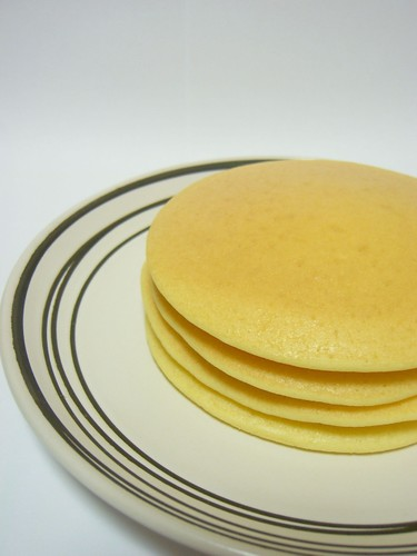 Rice Flour and Soy Milk Pancakes