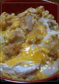 'Katsu-don' Pork Cutlet Rice Bowl