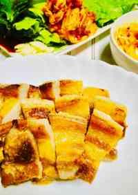 Easy Samgyeopsal in a Frying Pan