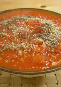 Noodles in Tomato Sauce Made with Instant Ramen