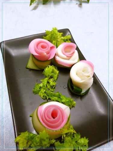 Deluxe Kamaboko Flowers