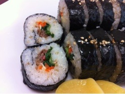 Colorful Kimbap: Korean Nori Seaweed Rolls