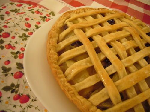 Egg & Dairy Free Creamy Easy Apple Pie