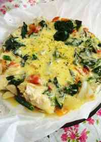 Easy Fish Dish Pacific Saury Cheese Bake