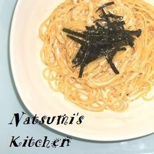 Mentaiko Butter Cream Pasta