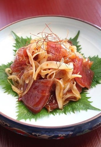 Chinese-style Marinated Tuna and Onion