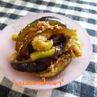 Simple Side Dish with Eggplants