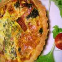Simple, 100% Homemade Spinach Quiche