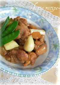 Chicken Simmered with Garlic