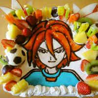 Game Character Cake: Inazuma Eleven's Motoyama Hiroto