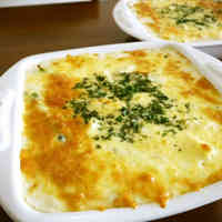 Seafood Gratin with Homemade Sauce