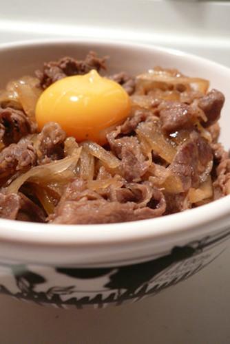 Kansai-Style Sukiyaki Beef Bowl Onions Galore