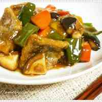 White Fish & Vegetables with Black Vinegar and Chinese 5-Spice