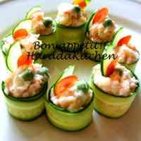 15 Minute Recipe - Crab Salad Wrapped in Cucumber
