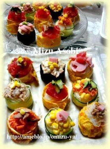 Cheap, Easy and Cute Temari Sushi