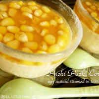 Whole Kernel Corn Chawan-Mushi (Steamed Egg Custard)