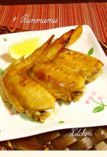 Lightly flavored Teriyaki Chicken Wings