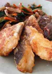 Karaage-style Fried Cod