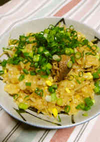 Easy, Budget-Saving Mixed Rice with Bean Sprouts