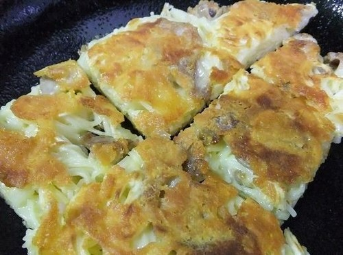 Easy Somen Noodle Chijimi (Korean Pancakes)