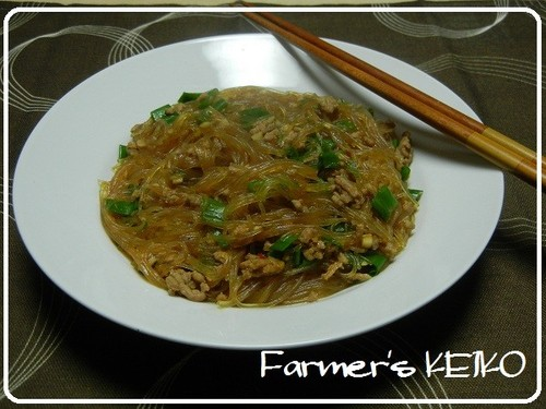Farmhouse Recipe for Sichuan-style Glass Noodles