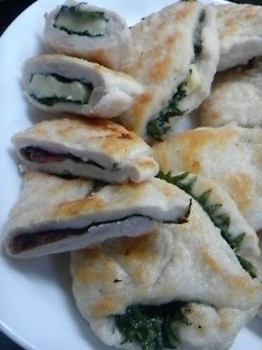 Pickled Plum & Cheese Chicken Tender Sandwiches ☆☆