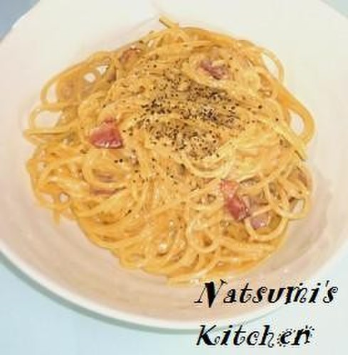 Tastes Like a Restaurant Dish with Basic Ingredients ✿ Carbonara