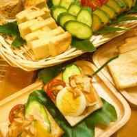 Gado Gado Open Sandwiches