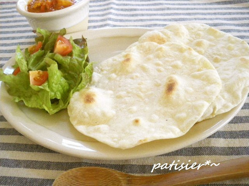 Chapati for Indian Curry