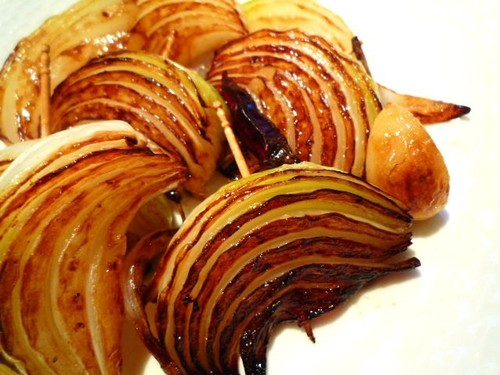Wine Appetizer - Grilled Onions