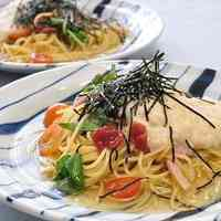 Silky and Cold Nagaimo and Umeboshi Spaghetti