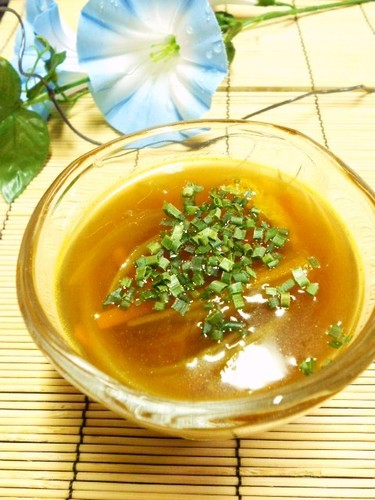 Summertime Is Curry Time! Cold Curry Flavored Noodle Dipping Sauce