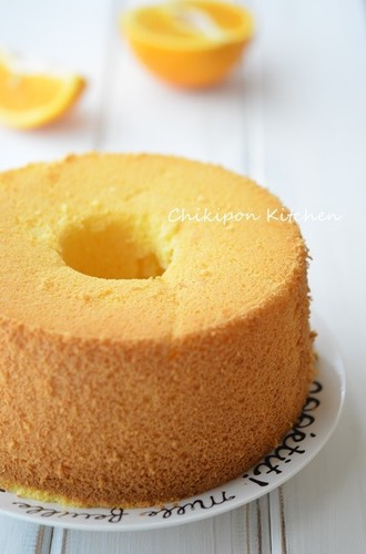 No-Fail Orange Chiffon Cake