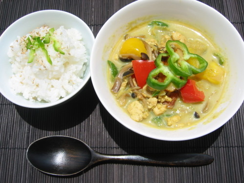 Japanese-Style Green Curry