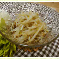 Quintessential Crispness! Parboiled Bean Sprouts and Sesame