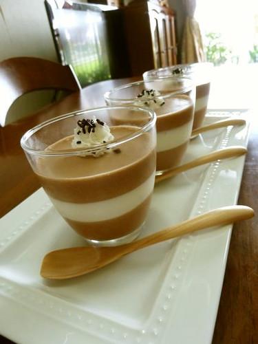 Fluffy Chocolate & Cream Bavarois
