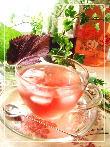 3-Ingredient Recipe Shiso Juice for Beautiful & Healthy Skin