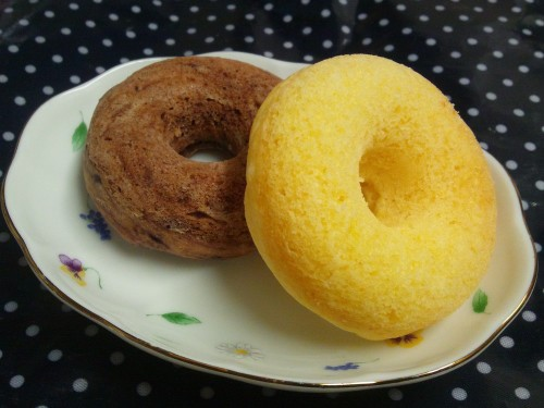 Easy Oil-free Tofu Donuts