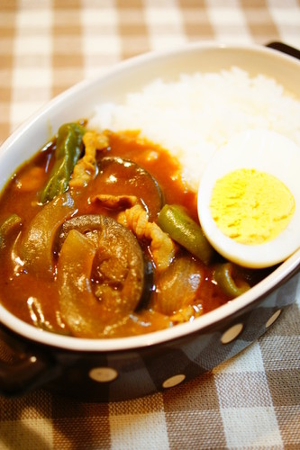 Summer Vegetable and Pork Curry