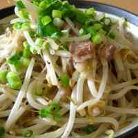 Stir-Fried Bean Sprouts and Pork with Fish Sauce